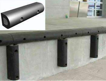 EPDM Dock Bumper 50 MM D Hole