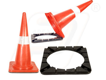PVC Safety Cone for Apartments at Bangalore