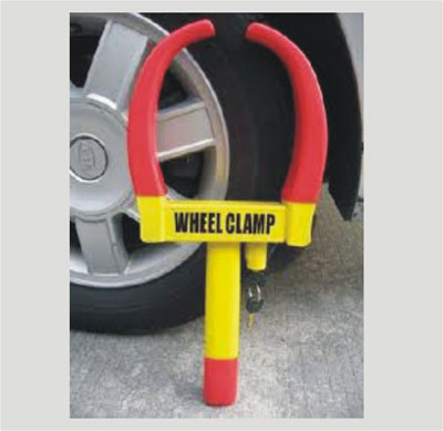 Heavy-duty lock clamp fro Cars